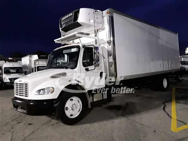 USED 2013 FREIGHTLINER M2 106 REEFER TRUCK #667268