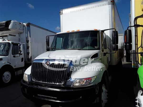 2013 NAVISTAR INTERNATIONAL 4300 BOX VAN TRUCK #662410