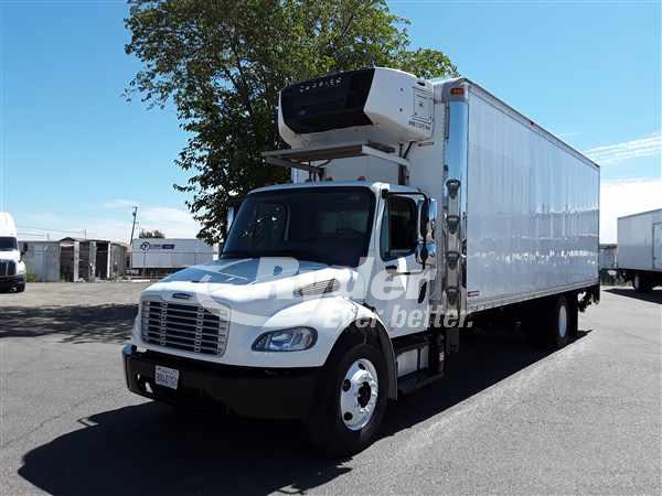 USED 2013 FREIGHTLINER M2 106 REEFER TRUCK #662649