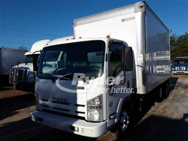 USED 2012 ISUZU NPR HD BOX VAN TRUCK #660476