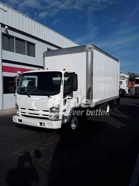 USED 2012 ISUZU NPR HD BOX VAN TRUCK #660479