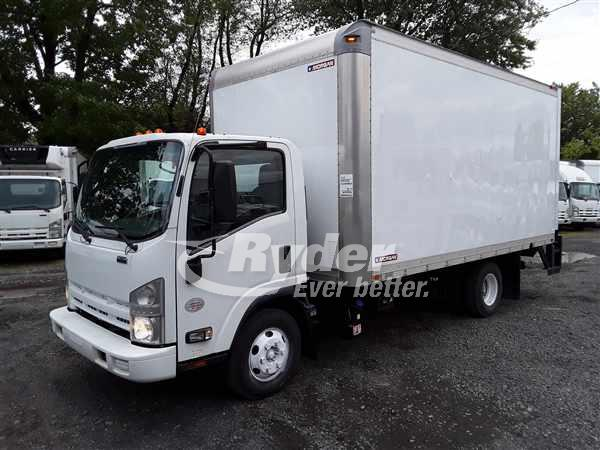 USED 2012 ISUZU NPR HD BOX VAN TRUCK #668034