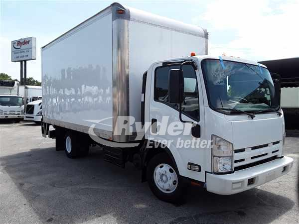 USED 2012 ISUZU NPR HD BOX VAN TRUCK #665105