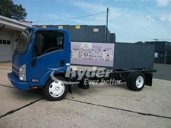 USED 2013 ISUZU NRR CAB CHASSIS TRUCK #661714