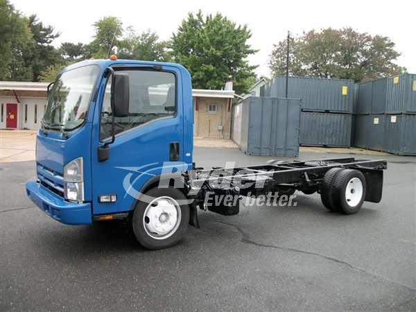 USED 2013 ISUZU NRR CAB CHASSIS TRUCK #661475