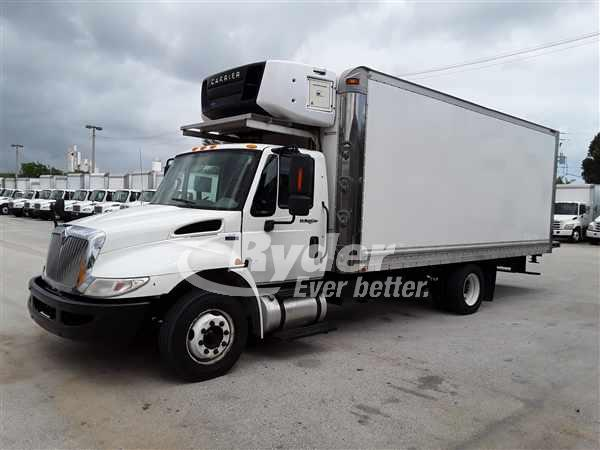USED 2013 NAVISTAR INTERNATIONAL 4300 REEFER TRUCK #663562