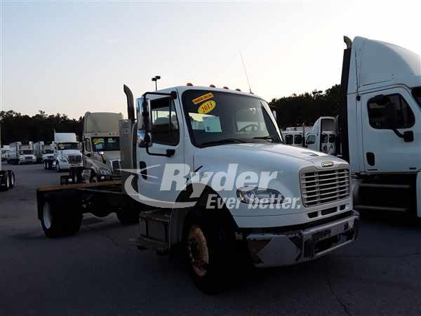 USED 2013 FREIGHTLINER M2 106 CAB CHASSIS TRUCK #662283