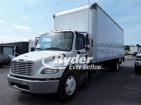 USED 2012 FREIGHTLINER M2 106 BOX VAN TRUCK #662250