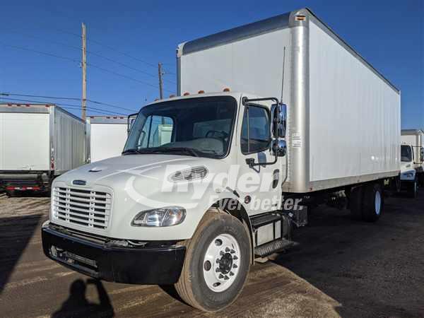 USED 2012 FREIGHTLINER M2 106 BOX VAN TRUCK #662553