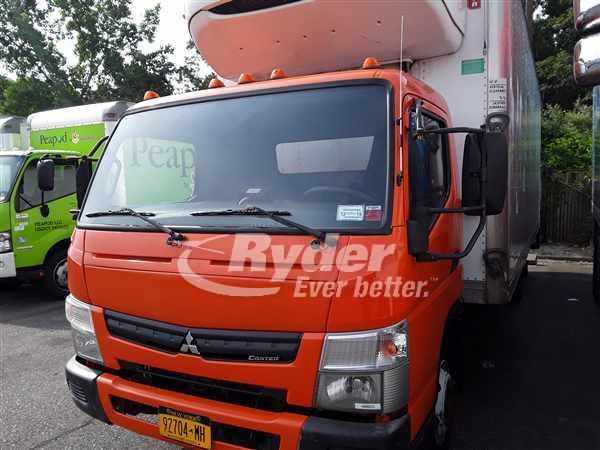USED 2012 MITSUBISHI FEC92S REEFER TRUCK #662373