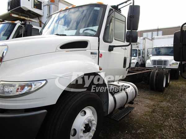 USED 2013 NAVISTAR INTERNATIONAL 4400 CAB CHASSIS TRUCK #660733