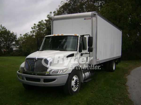 USED 2013 NAVISTAR INTERNATIONAL 4300 BOX VAN TRUCK #668648