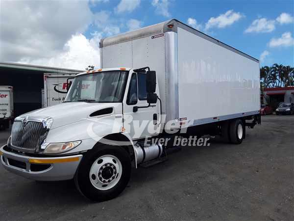 USED 2013 NAVISTAR INTERNATIONAL 4300 BOX VAN TRUCK #660635