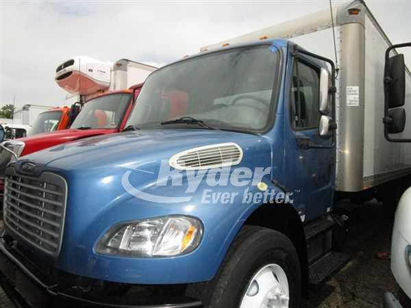 USED 2013 FREIGHTLINER M2 106 BOX VAN TRUCK #661335