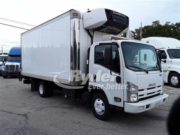 2013 ISUZU NPR HD REEFER TRUCK #665480