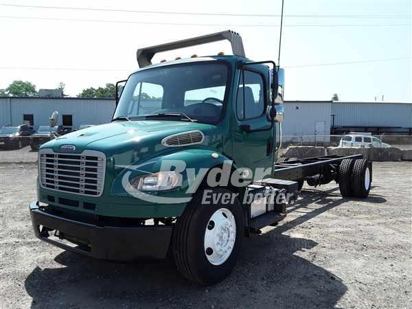 USED 2013 FREIGHTLINER M2 106 CAB CHASSIS TRUCK #662857