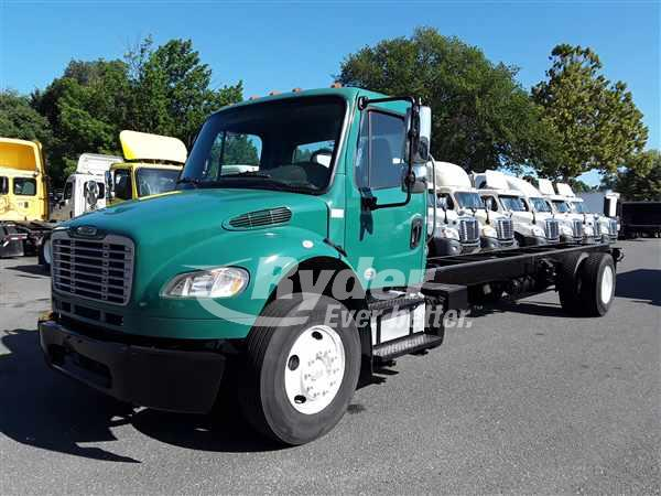 USED 2013 FREIGHTLINER M2 106 CAB CHASSIS TRUCK #663141