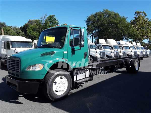 USED 2013 FREIGHTLINER M2 106 CAB CHASSIS TRUCK #663423
