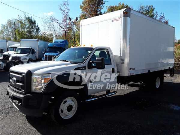 2012 FORD F450 BOX VAN TRUCK #668766