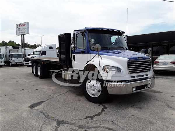 USED 2013 FREIGHTLINER M2 106 FLATBED TRUCK #662750