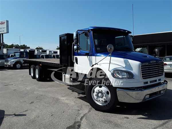 2013 FREIGHTLINER M2 106 FLATBED TRUCK #662805