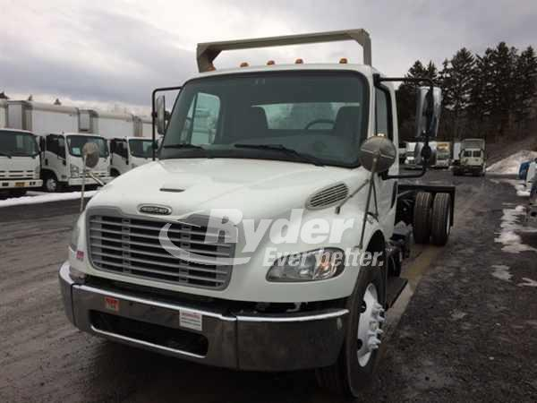 USED 2013 FREIGHTLINER M2 106 CAB CHASSIS TRUCK #661738