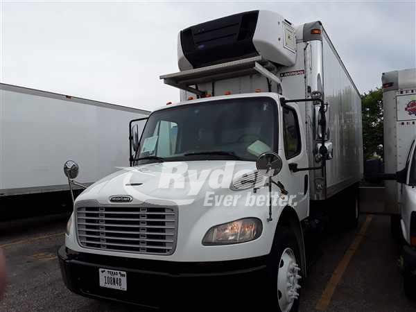 USED 2013 FREIGHTLINER M2 106 REEFER TRUCK #662166