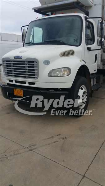USED 2009 FREIGHTLINER M2 106 REEFER TRUCK #661411