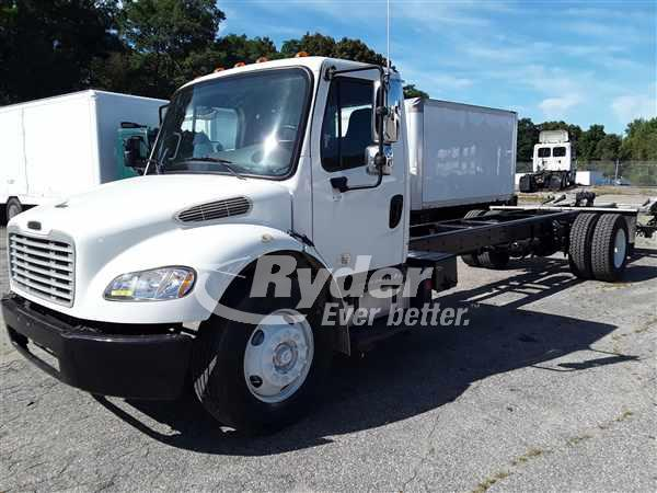 2013 FREIGHTLINER M2 106 CAB CHASSIS TRUCK #663171