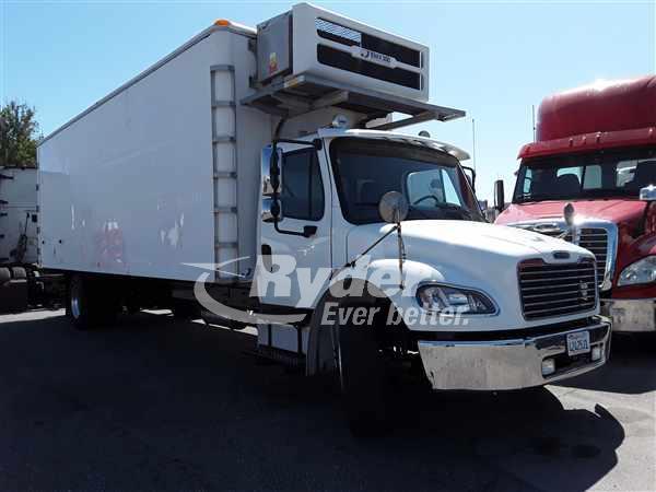 USED 2013 FREIGHTLINER M2 106 BOX VAN TRUCK #663482