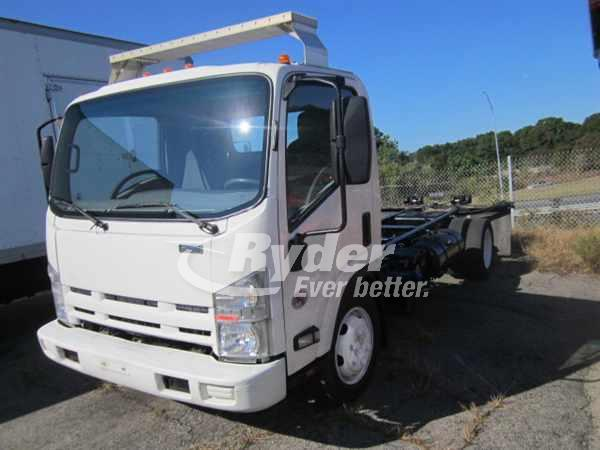 USED 2013 ISUZU NQR CAB CHASSIS TRUCK #661920