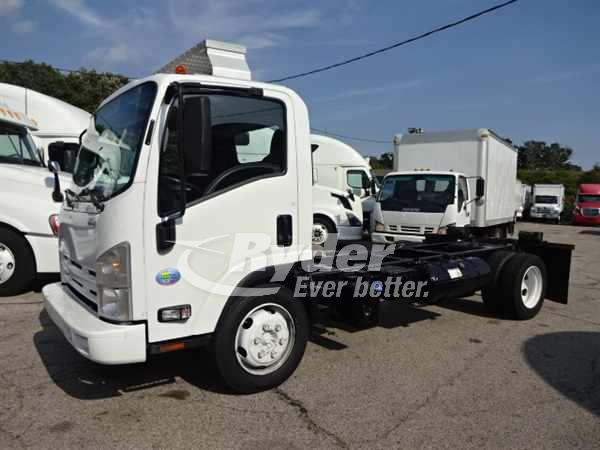 USED 2013 ISUZU NQR CAB CHASSIS TRUCK #661882