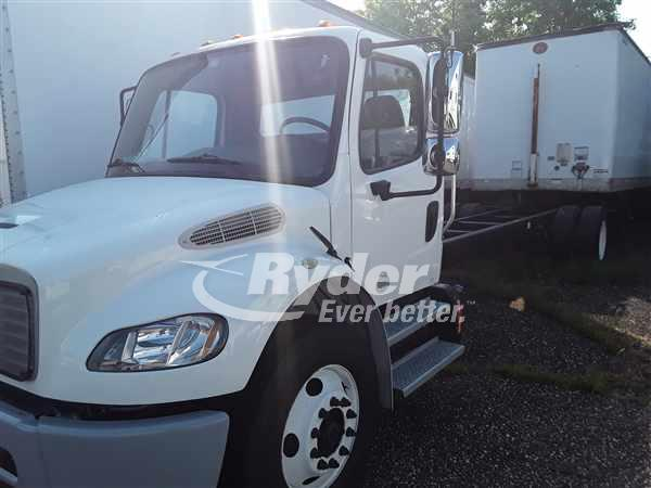 USED 2013 FREIGHTLINER M2 106 CAB CHASSIS TRUCK #661863