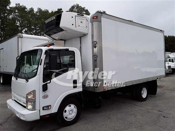 2011 ISUZU NPR HD REEFER TRUCK #666594