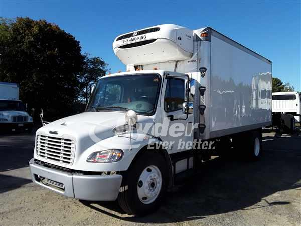 USED 2013 FREIGHTLINER M2 106 REEFER TRUCK #668116