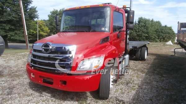 2012 HINO HINO 268 CAB CHASSIS TRUCK #668050
