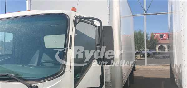 USED 2013 ISUZU NPR HD BOX VAN TRUCK #661667