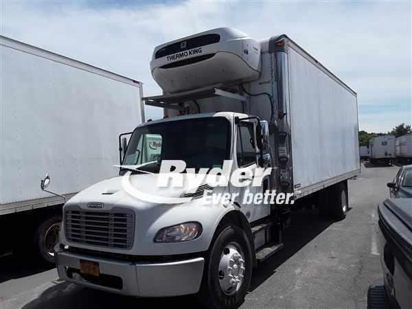 USED 2013 FREIGHTLINER M2 106 CAB CHASSIS TRUCK #662150