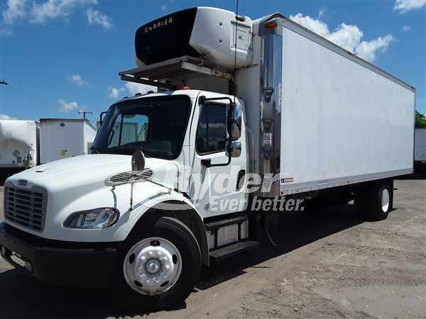 USED 2013 FREIGHTLINER M2 106 REEFER TRUCK #662381