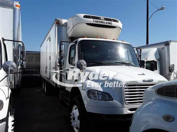 USED 2013 FREIGHTLINER M2 106 REEFER TRUCK #665140