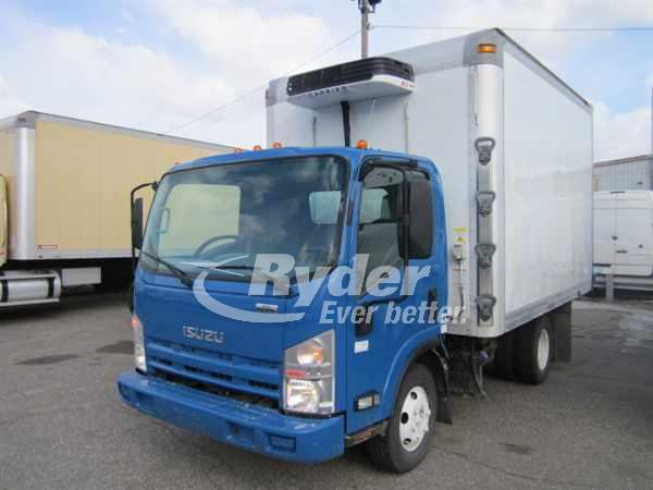 2013 ISUZU NPR HD REEFER TRUCK #661645