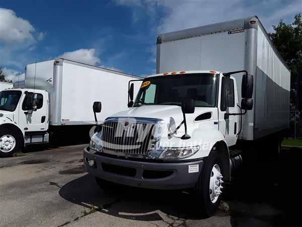 USED 2013 NAVISTAR INTERNATIONAL 4300 BOX VAN TRUCK #663444