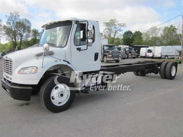 USED 2013 FREIGHTLINER M2 106 CAB CHASSIS TRUCK #661239