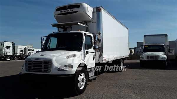 USED 2013 FREIGHTLINER M2 106 REEFER TRUCK #668082