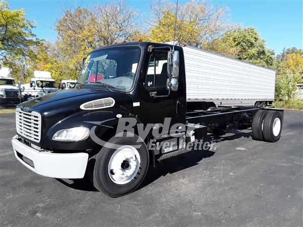 USED 2013 FREIGHTLINER M2 106 CAB CHASSIS TRUCK #669238