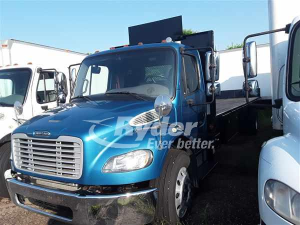 USED 2013 FREIGHTLINER M2 106 FLATBED TRUCK #661876