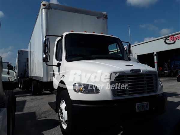 USED 2013 FREIGHTLINER M2 106 BOX VAN TRUCK #662715