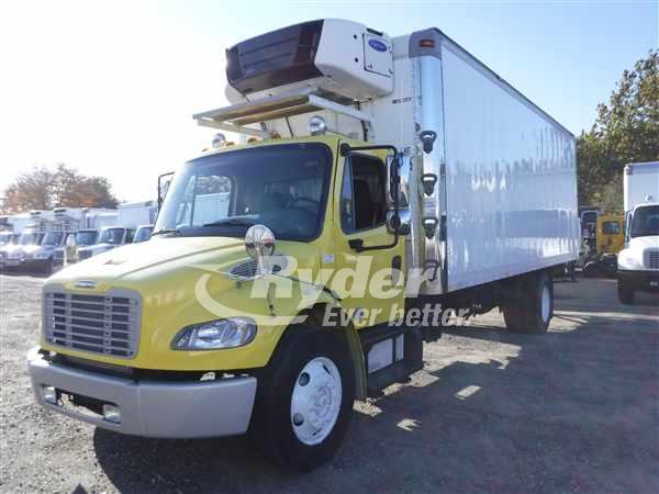 USED 2013 FREIGHTLINER M2 106 REEFER TRUCK #668652