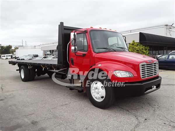 2013 FREIGHTLINER M2 106 CAB CHASSIS TRUCK #668085