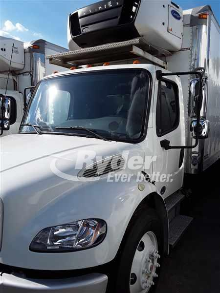 USED 2013 FREIGHTLINER M2 106 REEFER TRUCK #662265
